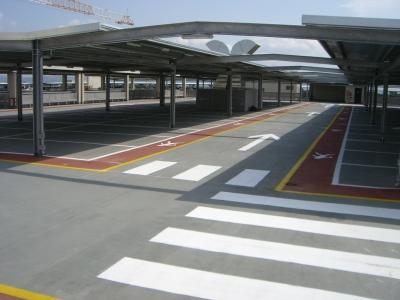 Parkingi otwarte - HYDROIZOLACJA DACHU, BALKONU, TARASU