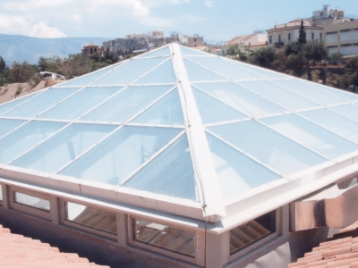 Szkło i plastik - HYDROIZOLACJA DACHU, BALKONU, TARASU